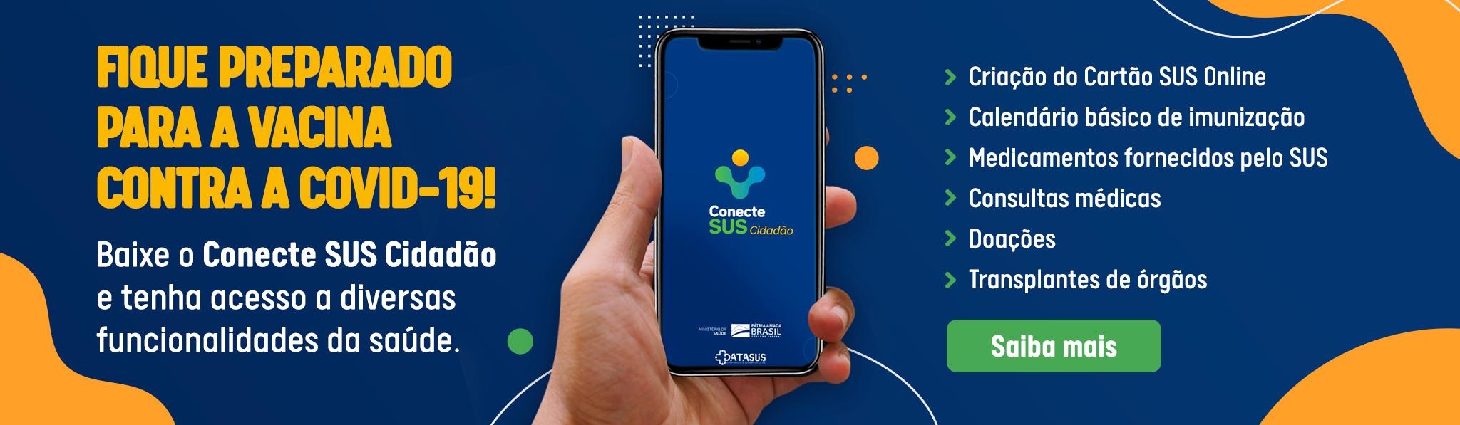 CARTÃO DO SUS PELA INTERNET (CONECTE SUS)