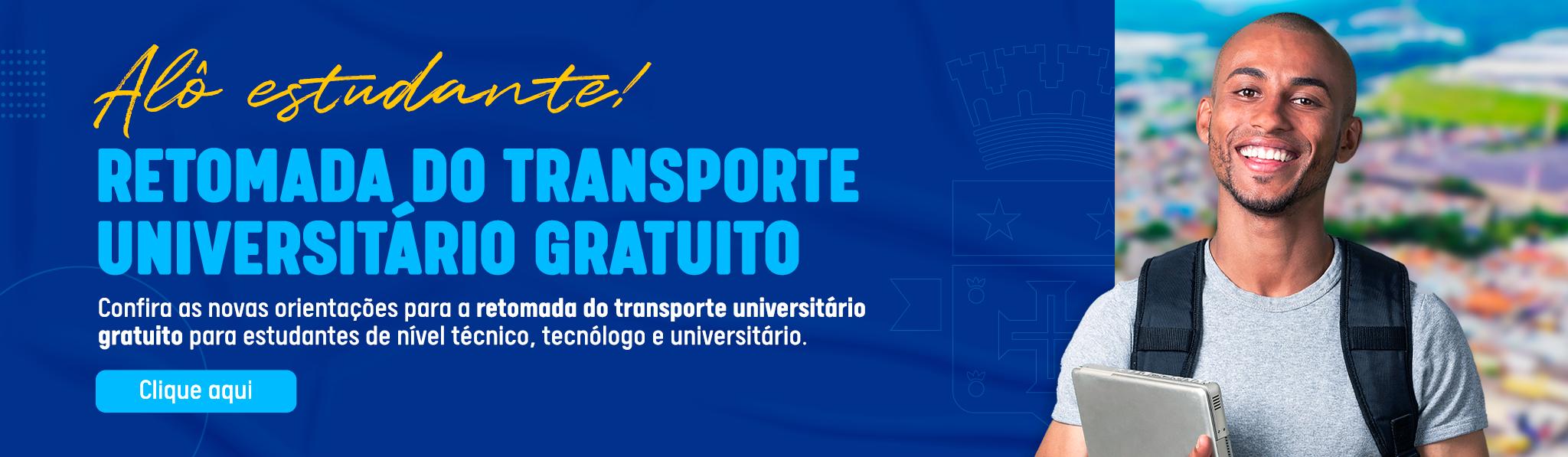 TRANSPORTE UNIVERSITÁRIO